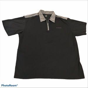 Columbia Black Omni Dry Polo Shirt XL
